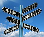 puzzled-confused-lost-signpost-10088180