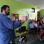 ClinicTracker Matt Speaking in Peru